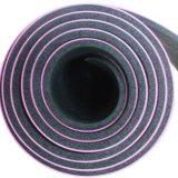 Tapis de yoga en caoutchouc de haute qualité en cuir PU haute classe