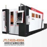 Máquina de estaca de couro de papel do laser da tela de pano