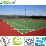 De comfortabele Bevloering van de Tennisbaan van de Oppervlakte van de Sport van de Tennisbaan