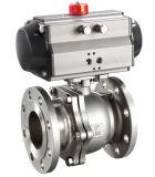 Válvula de esfera O-Shaped pneumática da Estaca-fora (GZSHO)