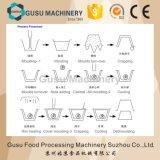 Máquina de carcaça pura da barra de chocolate de ISO9001 Gusu (QJJ175)