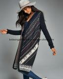 Wolljacke-Strickjacke der Soem Dame-Fashion Hot Sales Long