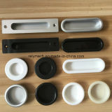 Plastic/Nylon Cabinet Handle/Furniture Handle 둥근 Waist/Ellipse