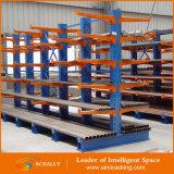 Supports en porte-à-faux en acier de stockage d'entrepôt de support d'industrie lourd