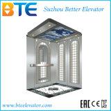 Cer-gute Dekoration und sicherer Passagier-Aufzug ohne Maschinen-Raum