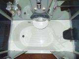 Chuveiro de banho de acrílico a vapor (ADL-8308)