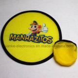Frisbee di nylon pieghevole promozionale T190 con stampa di marchio (3488)