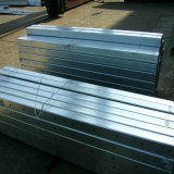 十字シャフトとの長方形のHot DIP Galvanized Steel Hollow Section