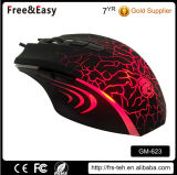 Nouveau design Accessoire informatique Colorful Optical LED Gaming Mouse