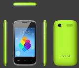 Telefone de pilha Duplo-SIM do Quad-Núcleo de 3.5 cartões da polegada