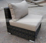 Garten-im Freien geschnittenflechtweide/Rattan-Sofa eingestellt (MTC-189)