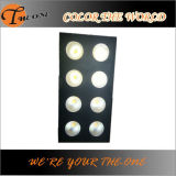 8*100W Single Cool White ou diodo emissor de luz Blinder Stage Light de Warm White