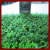 PP Curly Yarn Grama artificial para golfe Putting Green