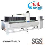 Máquina de pulir del borde de cristal especial triaxial de la dimensión de una variable del CNC