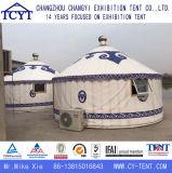 Barraca Mongolian de bambu de acampamento Tourist personalizada de Yurt