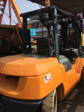 Petrol Power Ty40の中古のOriginal日本のForklift Used日本のトヨタForklift 4 Tons Six Cylinder Enginee