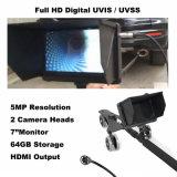 Sob o sistema de inspeção do veículo com a segurança dobro que verific câmeras com o monitor de 7 polegadas