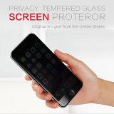 Anti de Spion Aangemaakte Beschermer van het Scherm van de Telefoon van het Glas Mobiele