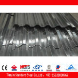 Chapa de aço galvanizada ondulada laminada