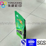 4-kant de Verzegelende Verpakkende Plastic Zak van het Voedsel van de Snack
