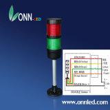 CNC 기계를 위한 세 배 색깔을%s 가진 LED 말뚝 경고등