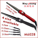 M602b Tourmaline Coating Hot Sell Curador de cabelo cônico
