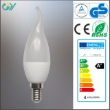 C37 6W 7W C35 3W 4W E14 3000k Tailed LED Candle