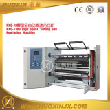 Película de plástico Alumniul Foil rebobinado de la máquina (NXQ-1300)