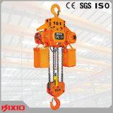 10t het elektrische Hijstoestel van de Ketting met de Bescherming van de Overbelasting