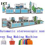 Nicht gesponnener Maschinen-Beutel, der Maschinerie die Plastiktasche bildet Kxt-Nwb18 bildet