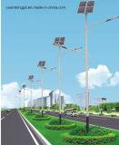 4m Pole Solarstraßenlaternemit 30W LED Birne