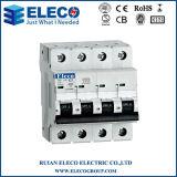 MCB van uitstekende kwaliteit IP20 4p Mini Circuit Breaker (EPB6K Series)