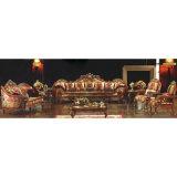 ホーム家具(962A)のためのソファーの椅子が付いている木製ファブリックソファー