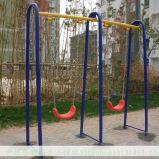 Frame ao ar livre do balanço do pátio com corrediça