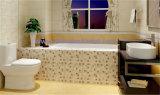 Sunboat encaixou a banheira do ferro de molde com corrimão Oordinary, banheira do esmalte da banheira do agregado familiar