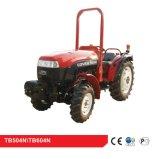 Foton Lovol 4WD Tractor agricola, Orchard, Viña, 50HP, TB504N con CE y ISO9001, Rops con Ec y la OCDE Certificación