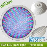RGB PAR56 LED Swimming Pool Bulb Lamp Light 18W Without Niche With Remote