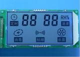 Uso dell'interno dello schermo dell'indicatore dell'umidità e di temperatura
