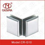 Сторона двойника сплава цинка стекло 90 градусов к стеклянной струбцине отладки (CR-G10)