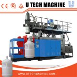 máquina de molde do sopro da extrusão do HDPE da estação do dobro do frasco de 5L 10L