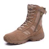 Ботинки армии ботинок пустыни людей неподдельной кожи