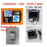2016 el USB lleno más nuevo VAS5054 del VASO 5054A Bluetooth de la viruta de Odis V6.22 VAS5054A Oki una tablilla instalada de Xplore IX104 (I7, 4G)