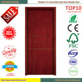 Colors와 Designs 선택적인 PVC Glass MDF Door