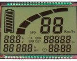 Karakters en LCD van het Radertje van de Grafiek FSTN Vertoning