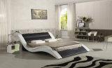 Romantisches der Möbel-A516 Bett Entwurfs-des König-Size LED