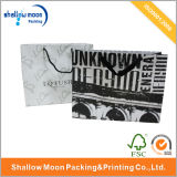 Sac à provisions de papier respectueux de l'environnement fait sur commande (QYZ040)