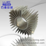 Precisione Machined Parte per Machining Lighting Parte Heatsink con RoHS
