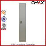 Solo gabinete de acero Cmax-SL01-001 del metal del vestuario del uso de la escuela del trabajo del armario de la puerta