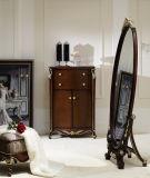 Mobilia-Armadietto di legno classico del salone