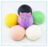 皮Care Product/100% Natural Konjak SpongeかTea Green Konjac Sponge